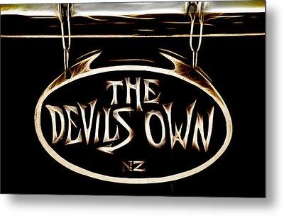 Devils Own Metal Print
