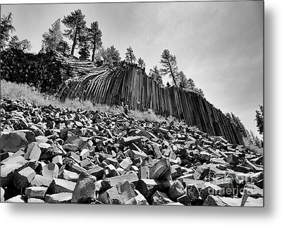 Devils Postpile National Monument Metal Print