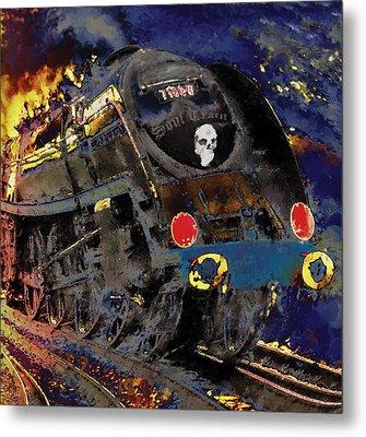Devil's Train Metal Print by Pennie  McCracken
