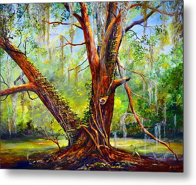 Devine Oak Metal Print by AnnaJo Vahle