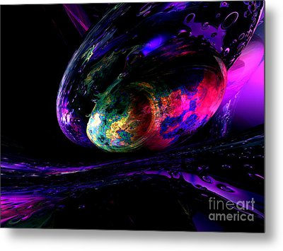 Dew Of A Rainbow Metal Print by Alexander Butler