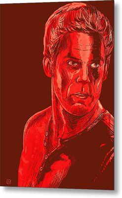 Dexter Metal Print by Giuseppe Cristiano