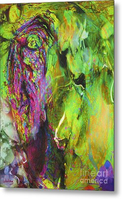 Dialogue 49 - Spring Romantic Metal Print by Dov Lederberg