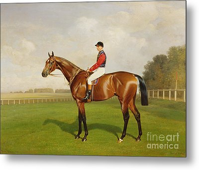 Diamond Jubilee Winner Of The 1900 Derby Metal Print by Emil Adam