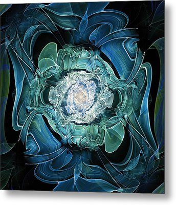 Diamond Nest Metal Print