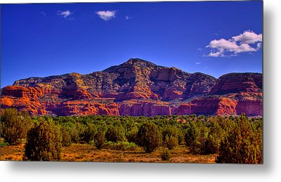 Diamondback Gulch Near Sedona Arizona Iv Metal Print by David Patterson