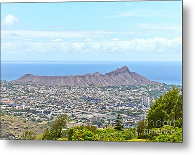 Diamondhead Metal Print