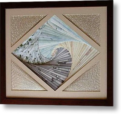 Metal Print featuring the mixed media Diamonds Are Forever by Ron Davidson