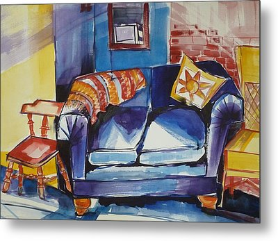 Diana's Couch Metal Print