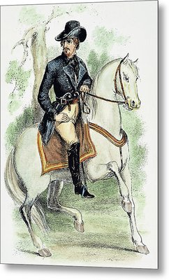 Dick Turpin (1706-1739) Metal Print by Granger