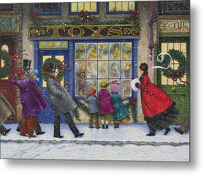The Toy Shop Metal Print by Lynn Bywaters