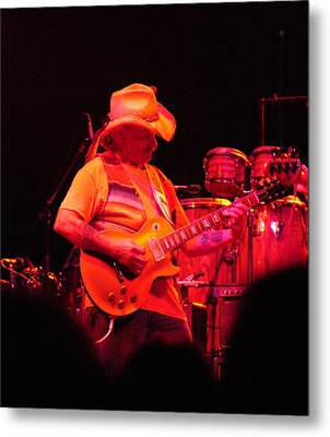 Dickey Betts Jammin Metal Print by Mike Martin