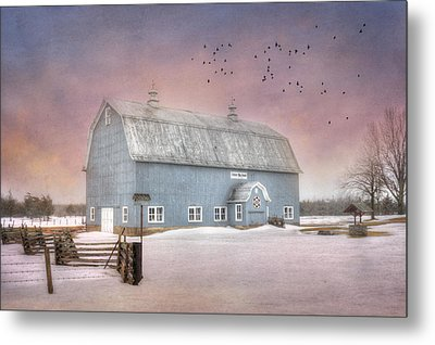 Dickey Hill Farm Metal Print by Lori Deiter