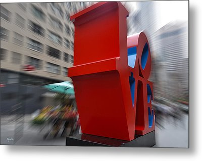 Different Slant To Love Metal Print by Paulette B Wright