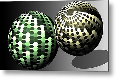 Different Worlds Metal Print by John Hines