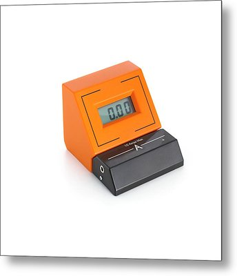 Digital Ammeter Metal Print