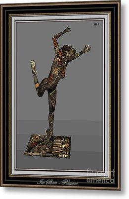 Digital Statue 11ds2 Metal Print by Pemaro