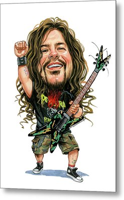Dimebag Darrell Metal Print by Art