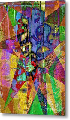 Dimensions Metal Print by Molly McPherson