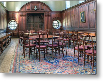 Metal Print featuring the photograph Dining Hall Wren Building by Jerry Gammon