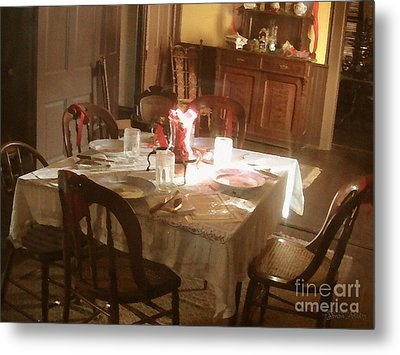 Metal Print featuring the photograph Dinner Party by Cristophers Dream Artistry