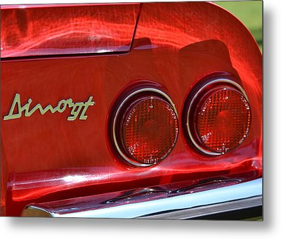 Metal Print featuring the photograph Dino Gt by Dean Ferreira