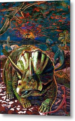 Dinosaurs Metal Print by Dan Terry