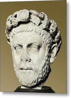 Dioclecian 245-316. Roman Emperor Metal Print by Everett