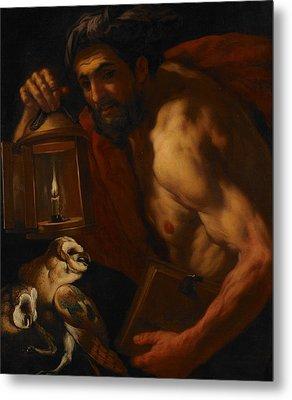 Diogenes Metal Print