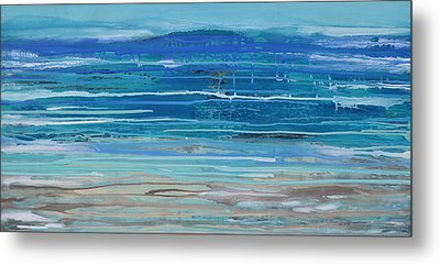 Dip In The Sea      Metal Print