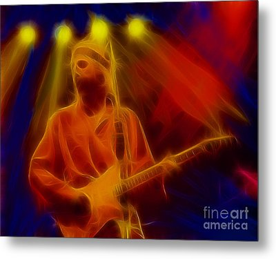 Dire Straits-4-fractal Metal Print by Gary Gingrich Galleries