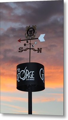 Metal Print featuring the photograph Direction by Cynthia Guinn