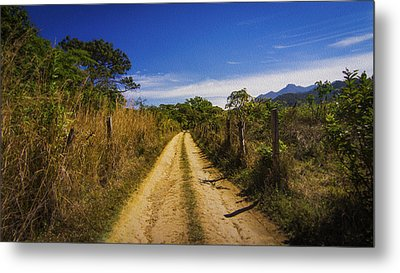 Dirt Road Metal Print by Aged Pixel