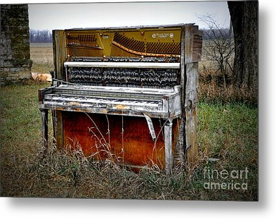 Discarded Metal Print by Jean Hutchison