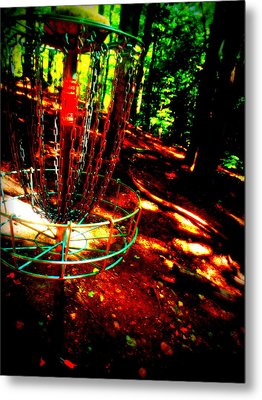 Discin Colors Metal Print