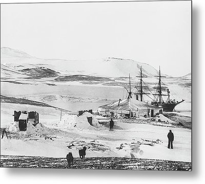 Discovery Antarctic Expedition Metal Print by Scott Polar Research Institute