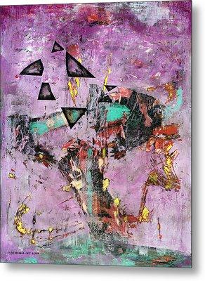 Disfunction Metal Print by Antonio Ortiz