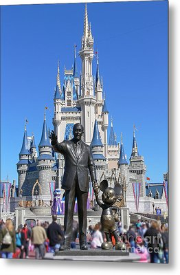 Disney And Mickey Metal Print