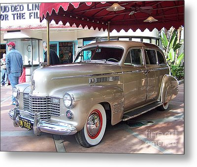 Metal Print featuring the photograph Disney Cadillac by Tom Doud