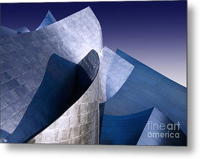 Disney Hall La Metal Print by Angelika Drake