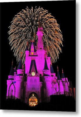 Disney Magic Metal Print by Benjamin Yeager