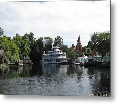 Disneyland Park Anaheim - 121212 Metal Print by DC Photographer