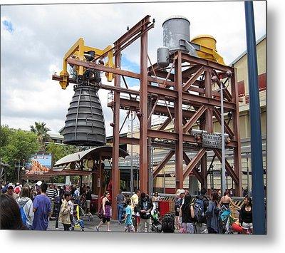Disneyland Park Anaheim - 121247 Metal Print by DC Photographer