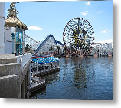 Disneyland Park Anaheim - 121253 Metal Print by DC Photographer