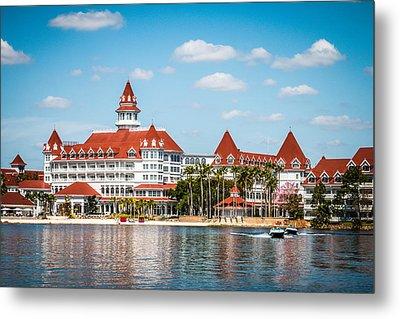 Disney's Grand Floridian Resort And Spa Metal Print