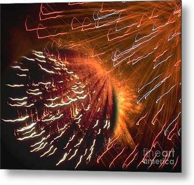 Display Of Wonders Metal Print by Belinda Threeths