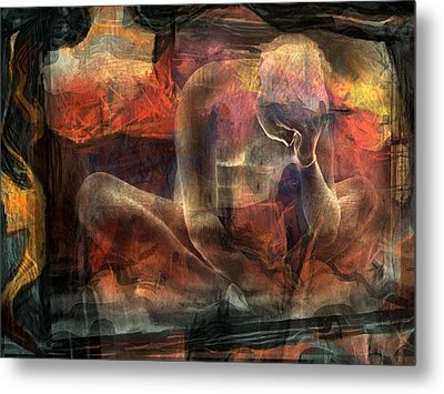 Disquietude-days Of Nothing (2) Metal Print by Sol Marrades