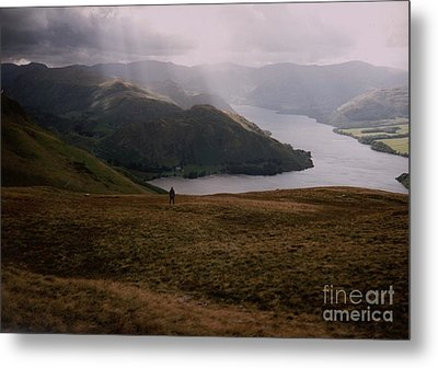 Metal Print featuring the photograph Distant Hills Cumbria by John Williams