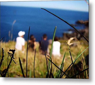 Metal Print featuring the photograph Distant Memories by Zinvolle Art