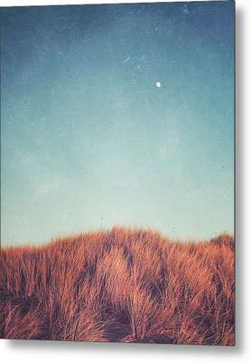 Distant Moon Metal Print